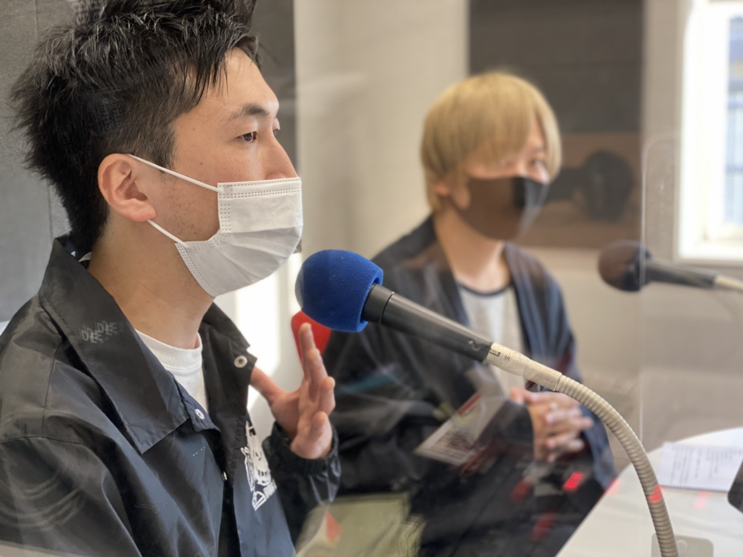 4月22日 2nd EP『Rely』リリース記念特別ラジオ番組 オフショット
